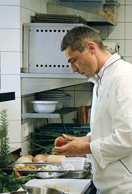 Küchenchef Peter Hofman