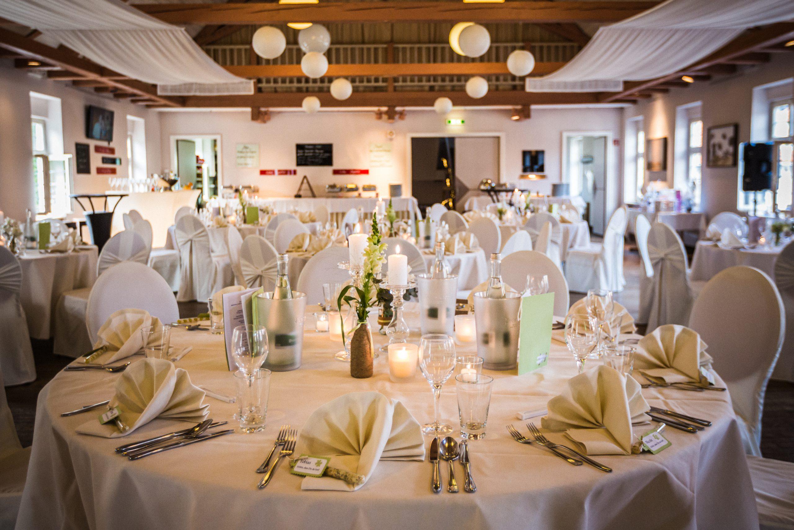 Hochzeitsfeier in der Hammermühle imd Ratssaal