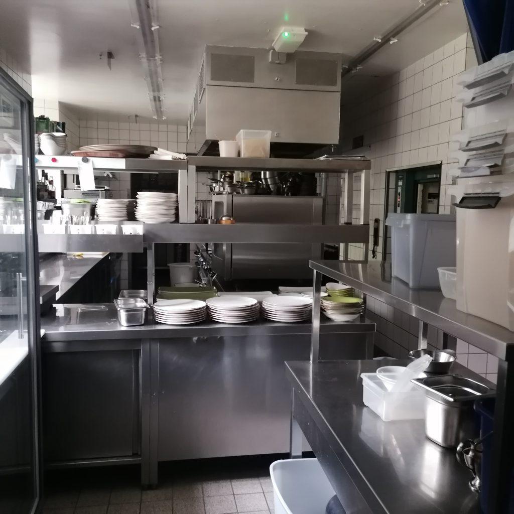 Leere Küche der Hammermühle