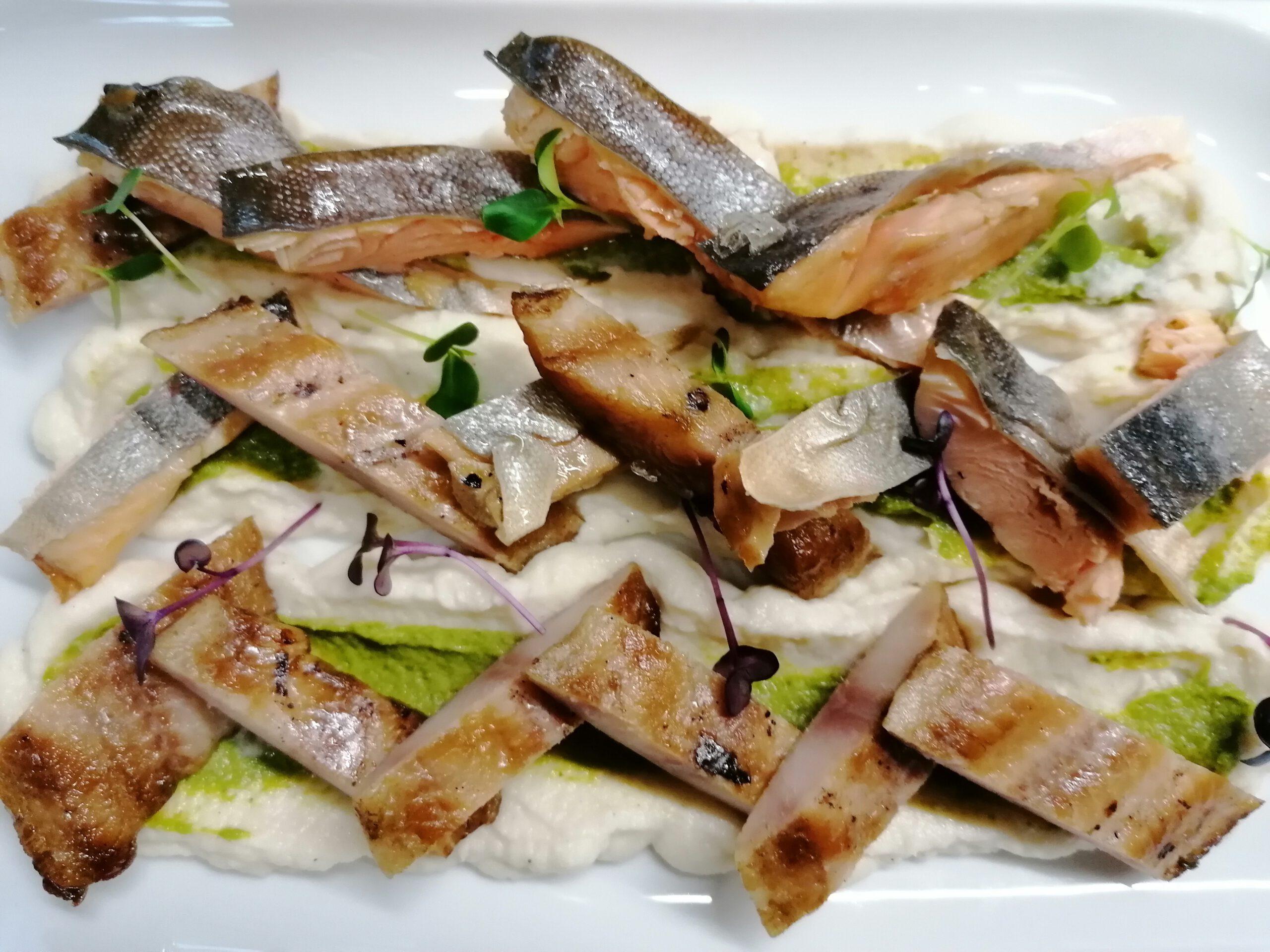 Hausgeräucherter Fisch